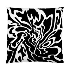 Black And White Decor Standard Cushion Case (one Side) by Valentinaart
