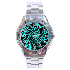 Cyan Decor Stainless Steel Analogue Watch