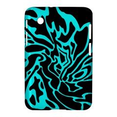 Cyan Decor Samsung Galaxy Tab 2 (7 ) P3100 Hardshell Case  by Valentinaart