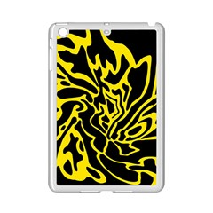 Black And Yellow Ipad Mini 2 Enamel Coated Cases by Valentinaart