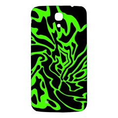 Green And Black Samsung Galaxy Mega I9200 Hardshell Back Case by Valentinaart
