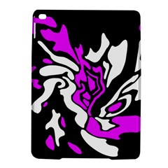 Purple, White And Black Decor Ipad Air 2 Hardshell Cases