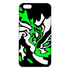 Green, White And Black Decor Iphone 6 Plus/6s Plus Tpu Case