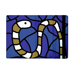 Green Snake Ipad Mini 2 Flip Cases by Valentinaart