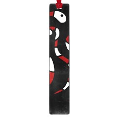 Red Snakes Large Book Marks by Valentinaart