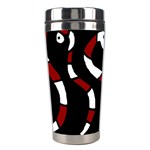 Red snakes Stainless Steel Travel Tumblers Center