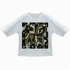 Brown Abstract Art Infant/toddler T Shirts by Valentinaart