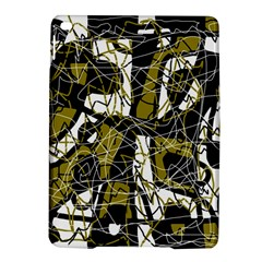 Brown Abstract Art Ipad Air 2 Hardshell Cases