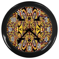 Digital Space Wall Clocks (black) by MRTACPANS
