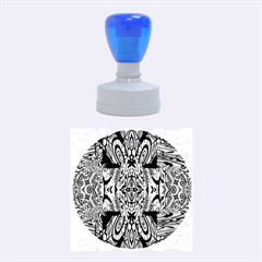Digital Space Rubber Round Stamps (medium) by MRTACPANS