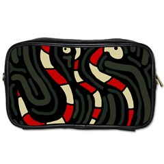 Red Snakes Toiletries Bags