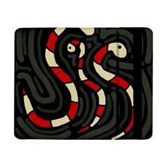 Red Snakes Samsung Galaxy Tab Pro 8 4  Flip Case