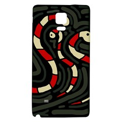 Red Snakes Galaxy Note 4 Back Case