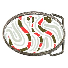 Snakes Family Belt Buckles by Valentinaart