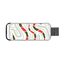 Snakes Family Portable Usb Flash (two Sides) by Valentinaart