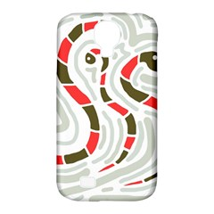 Snakes Family Samsung Galaxy S4 Classic Hardshell Case (pc+silicone) by Valentinaart