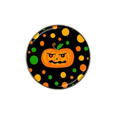 Halloween Pumpkin Hat Clip Ball Marker (10 Pack) by Valentinaart