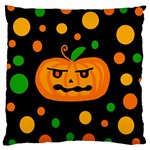 Halloween pumpkin Standard Flano Cushion Case (One Side) Front