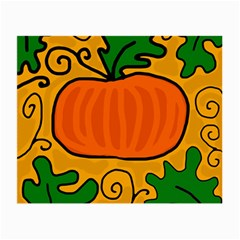 Thanksgiving Pumpkin Small Glasses Cloth by Valentinaart