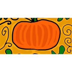 Thanksgiving Pumpkin You Are Invited 3d Greeting Card (8x4) by Valentinaart