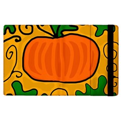 Thanksgiving Pumpkin Apple Ipad 3/4 Flip Case by Valentinaart