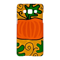 Thanksgiving Pumpkin Samsung Galaxy A5 Hardshell Case  by Valentinaart