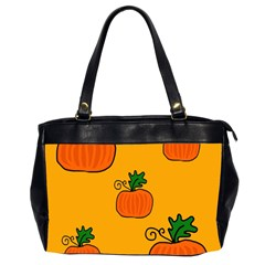 Thanksgiving Pumpkins Pattern Office Handbags (2 Sides)  by Valentinaart