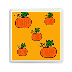Thanksgiving Pumpkins Pattern Memory Card Reader (square)  by Valentinaart