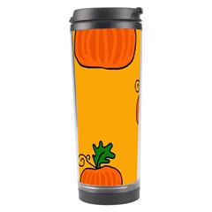 Thanksgiving Pumpkins Pattern Travel Tumbler