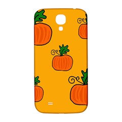 Thanksgiving Pumpkins Pattern Samsung Galaxy S4 I9500/i9505  Hardshell Back Case by Valentinaart