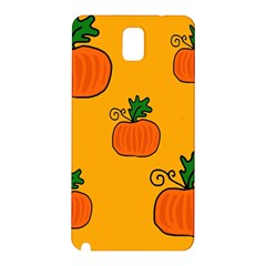 Thanksgiving Pumpkins Pattern Samsung Galaxy Note 3 N9005 Hardshell Back Case by Valentinaart
