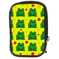 Green Frogs Compact Camera Cases