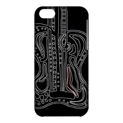Decorative Guitar Apple Iphone 5c Hardshell Case by Valentinaart
