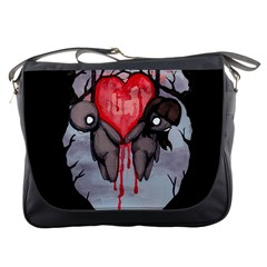 Til Death Messenger Bags by lvbart