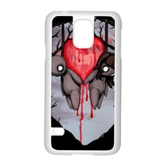 Til Death Samsung Galaxy S5 Case (white) by lvbart