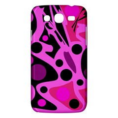 Pink Abstract Decor Samsung Galaxy Mega 5 8 I9152 Hardshell Case  by Valentinaart