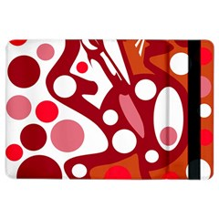 Red And White Decor Ipad Air 2 Flip by Valentinaart