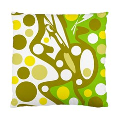 Green And Yellow Decor Standard Cushion Case (one Side) by Valentinaart