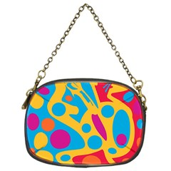 Colorful Decor Chain Purses (one Side)  by Valentinaart