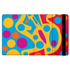 Colorful Decor Apple Ipad 3/4 Flip Case by Valentinaart
