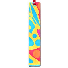 Colorful Decor Large Book Marks by Valentinaart