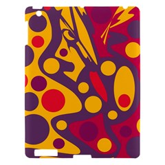 Colorful Chaos Apple Ipad 3/4 Hardshell Case by Valentinaart