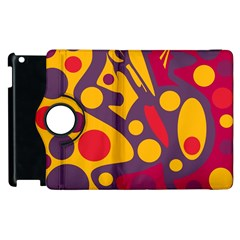Colorful Chaos Apple Ipad 3/4 Flip 360 Case by Valentinaart