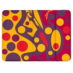 Colorful Chaos Samsung Galaxy Tab 7  P1000 Flip Case by Valentinaart