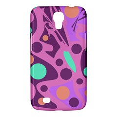 Purple And Green Decor Samsung Galaxy Mega 6 3  I9200 Hardshell Case by Valentinaart