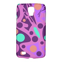 Purple And Green Decor Galaxy S4 Active by Valentinaart