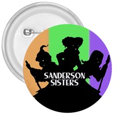Sanderson Sisters  3  Buttons by lvbart