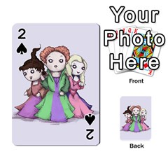 Hocus Pocus Plush Playing Cards 54 Designs  by lvbart