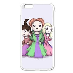 Hocus Pocus Plush Apple Iphone 6 Plus/6s Plus Enamel White Case by lvbart