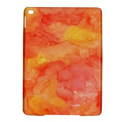 Watercolor Yellow Fall Autumn Real Paint Texture Artists Ipad Air 2 Hardshell Cases